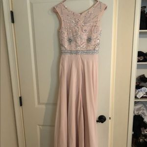 BLUSH SPECIAL OCCASION DRESS LONG
